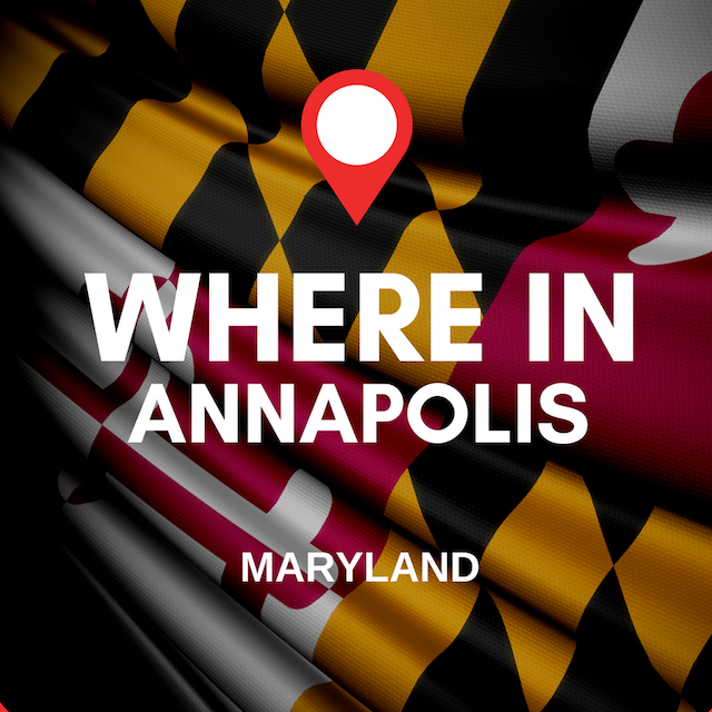 Where in Annapolis Logo